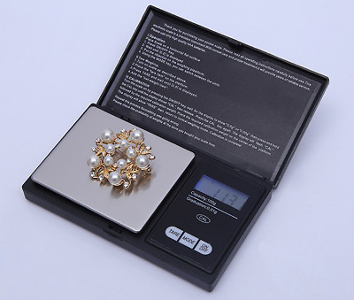 Precision Digital Weighing Scale Mini Gold Jewelry Electronic Weight 200g*0.01g