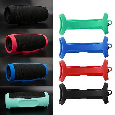 Replace Silicone Protective Sling Cover Case For JBL Charge3 Bluetooth Speaker