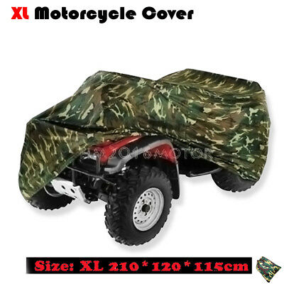 XL Camo Waterproof ATV Quad Bike Cover Fit Polaris Scrambler 400 50 500 XP