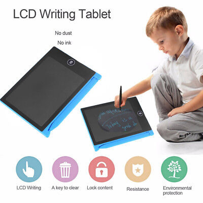 LCD Electronic Digital Writing Tablet Painting Board Drawing Pads Note Board US