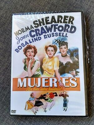 Dvd Mujeres - Es Todo Sobre Hombres - Norma Shearer - Joan Crawford - Sealed New