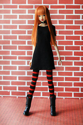 Punk Goth Outfit set for Momoko doll, Pullip, J-Doll, Obitsu fashion clothes
