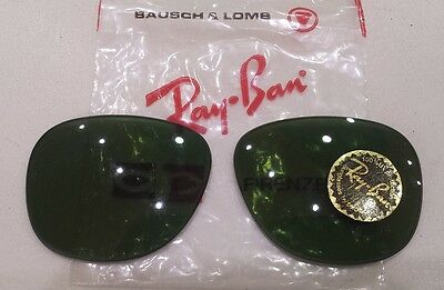 """RAY BAN coppia lenti  bausch & lomb   """"GATSBY 5""""   verde RB3"""
