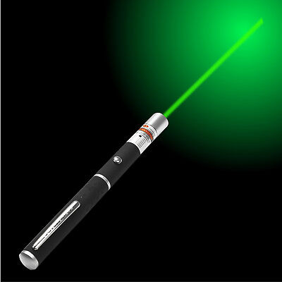 POWERFUL GREEN LASER LAZER POINTER PEN HIGH POWER PROFESSIONAL 532nm 1mW