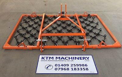 Mounted Chain Harrows, All sizes, 3 Way Use, Best and Cheapest on Ebay