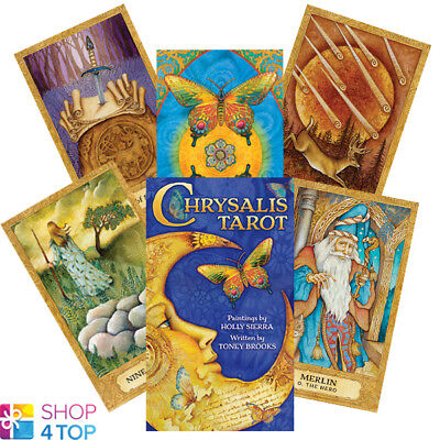 Chrysalis Tarot Deck Cards Mystic Esoteric Telling Astrology Artwork New