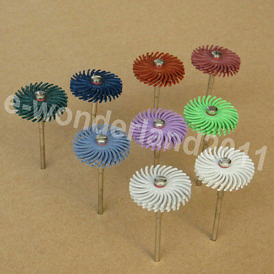 Radial Bristle Discs Brushes 25mm Dia Of Grit Choosing And Screw Mandrel polish
