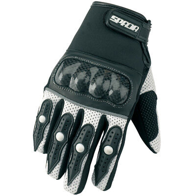 SPADA MX-1 Mesh Textile Vented Motocross Of Road Enduro Gloves – BLUE FOX 661