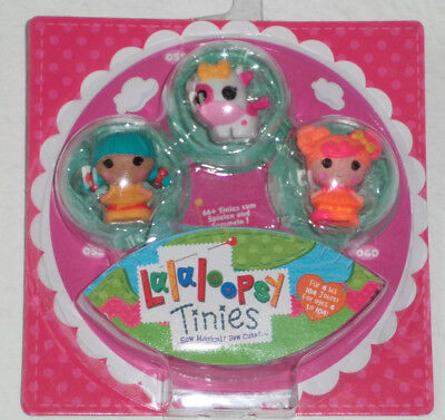 3er Mini Puppen Lalaloopsy Tinies  Pack,NEU & OVP!!!!