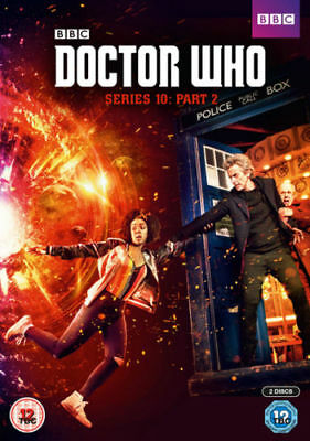DOCTOR WHO series/season 10 part 2 Region 2 New & Sealed pack DVD Fast Dispatch