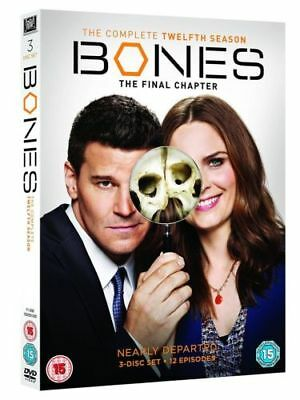 Bones complete season 12 final season Region 2 New DVD Fast Dispatch
