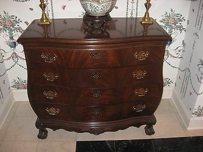 2 High End Mahogany Bombay Chests by Heritage Exquisite Condition Original Owner
