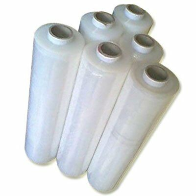 2 X Strong Rolls-Clear Pallet Stretch Shrink Wrap Cast Parcel Packing Cling Film