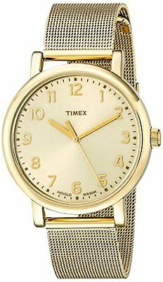 Timex Corporation - T2N598AB Unisex Originals Analog Display Quartz Gold