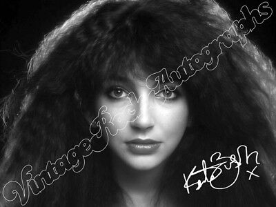KATE BUSH -  print signed photo - foto con autografo stampato