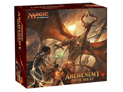 Magic The Gathering Archenemy: Nicol Bolas Box Set New Card Games 4x 60 Card Set