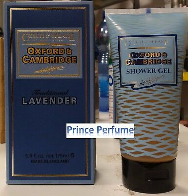 CZECH & SPEAKE OXFORD & CAMBRIDGE TRADITIONAL LAVENDER SHOWER GEL - 175 ml
