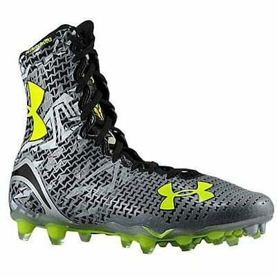 1250087 Under Armour Mens Lax Highlight MC High Lacrosse Cleats