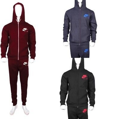 Mens Nike Fleece Slim Fit Full Arm Jogging and Training Tracksuit Set was £59.99
