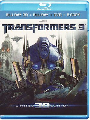 Transformers 3 - Limited 3D Edition (Blu-Ray 3d + Blu-Ray + Dvd + E-Copy) Nuovo