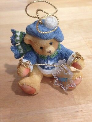 Cherished Teddies (Bear With Dangling Snowflakes) 272175