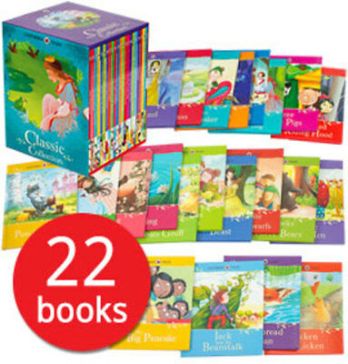 Ladybird Tales Classic Box Set Collection - 22 Books