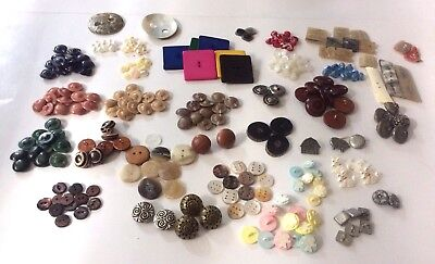 Antique And Vintage Button Lot, Beautiful, Unique And Rare Buttons In Lot