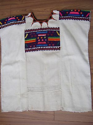 Guatemalan Huipil Top VTG – hand loomed, embroidery