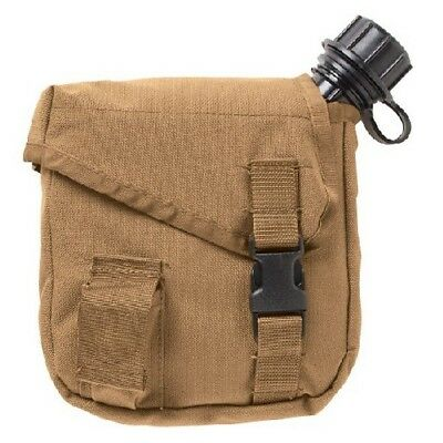 5ive Star Gear 6548000 MOLLE 2 Quart Canteen Cover Coyote