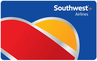 $200 Southwest Airlines Gift Card - Email delivery