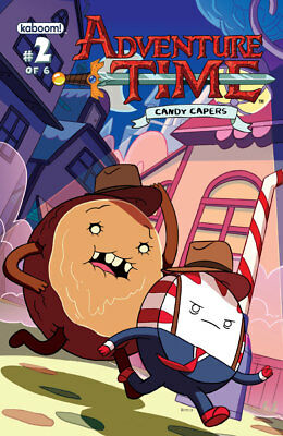 Adventure Time Candy Capers #2 Cover B Kaboom