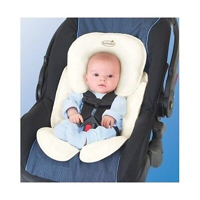 Baby Car Seat Head Support Pillow Newborn Infant Safety Cushion Covers Strollers
