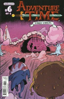 Adventure Time Candy Capers #6 Cover B Kaboom