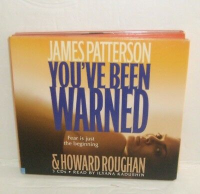You've Been Warned by James Patterson 3 CD audio book