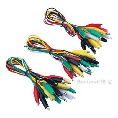 eBoot 30 Pieces Test Leads with Alligator Clips Set Insulated Test Cable ...