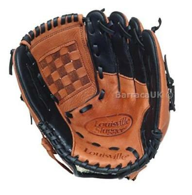 Louisville Slugger Baseball/Softball Glove - Tan/Black, 12 Inch - Left Glove