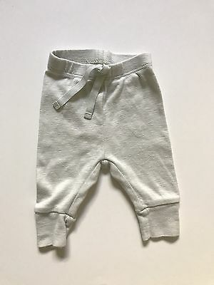 Baby Gap First Favorites Leggings Cuffed Pants Cotton Light Blue NB Up To 7 Lbs