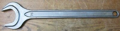 UNUSED NOS Stahlwille 40040750 DIN 894 75mm Wrench Open Ended Spanner