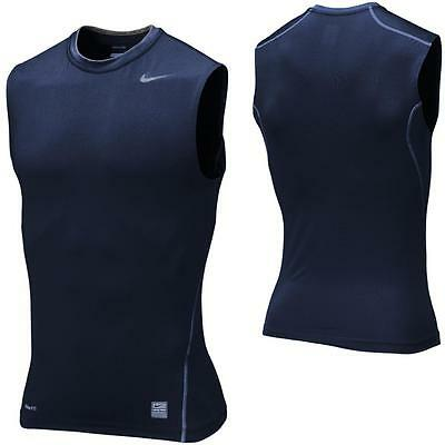 Nike Pro Combat Core Compression Sl Sleeveless Function Fitness Sports Shirt
