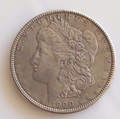 1900 P MORGAN SILVER DOLLAR  Nice Original XF