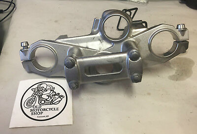 2007 Kawasaki Ex650A Upper Triple Tree Clamp And Riser Oem 44039-0033-458