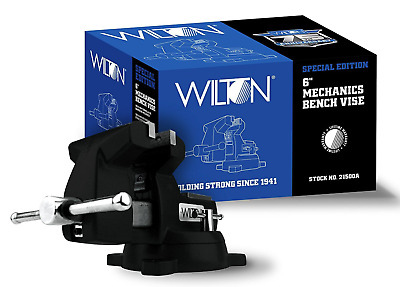 "New! Wilton 6"" Special Edition 746 Mechanics Bench Vise, Swivel Base, 21500A"