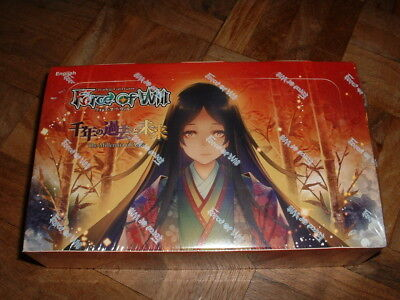 Force of Will The Millennia of Ages Trading Card Game Box Booster Packs - 36