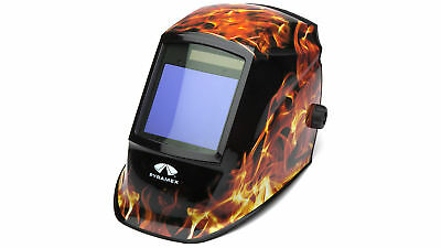 NEW PYRAMEX SAFETY WHAM3030FL Autodark Welding Helmet- Manual 98x87mm