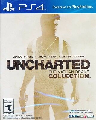 Uncharted The Nathan Drake Collection PS4 Game Brand New