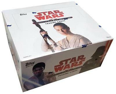 2017 Topps Star Wars Journey To The Last Jedi Factory Sealed Retail Box 24 packs