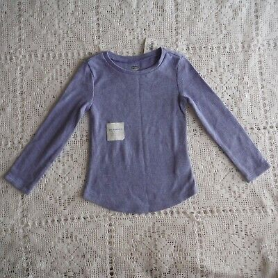 Girls Lavender blue Thermal Tee shirt size 2T Long sleeve  Old Navy  new