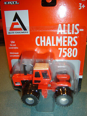 AGCO Allis Chalmers 7580 Articulated Tractor ERTL 1/64 Diecast NEW IN PKG