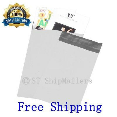 50 - 19x24 WHITE POLY MAILERS ENVELOPES BAGS 19 x 24 2.35Mil