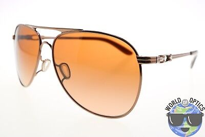 Oakley Women's Sunglasses OO4062-01 GIVEN Rose Gold Frame/Brown Gradient Lenses